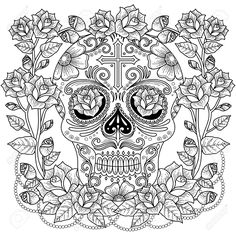 Fantastic adult coloring page royalty-free fantastic adult coloring page stock vector art & more images of abstract Skull Coloring Pages, Abstract Coloring Pages, Pattern Coloring Pages, Halloween Coloring Pages, Printable Adult Coloring Pages, Cute Coloring Pages, Flower Coloring Pages, Animal Coloring Pages, Coloring Pages To Print