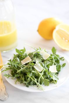 Arugula Salad Recipes, Healthy Salad Recipes, Lunch Recipes, Gourmet Recipes, New Recipes, Cooking Recipes, Favorite Recipes, Cooking Ideas, Easy Summer Meals