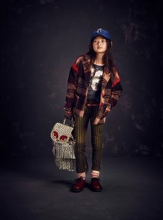 Loving that backpack! Scotch R'Belle for fall/winter 2015 kidswear