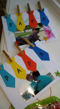Fathers Day Crafts For Kids Toddlers Kids Crafts, Toddler Crafts, Preschool Crafts, Fathers Day Art, Fathers Day Crafts, Diy Father's Day Gifts, Father's Day Diy, Diy For Kids, Gifts For Kids