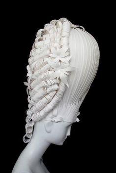 Stitchophrenia: Eye Candy -18th Century Inspired Paper Wigs