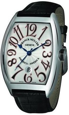 Franck Muller Men's Limited Edition USA Curvex Watch, Large Digits