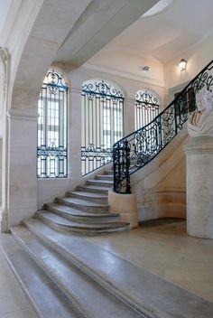 Escalier, Lycée Henri IV, Paris