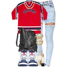 VIXENS., created by cheerstostyle on Polyvore