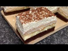 Prăjitura simpla și rapida data in doar 30 de minute   este preferata mea - YouTube Tiramisu, The Creator, Ethnic Recipes, Sweet, Youtube, Sweets, Food, Candy, Tiramisu Cake
