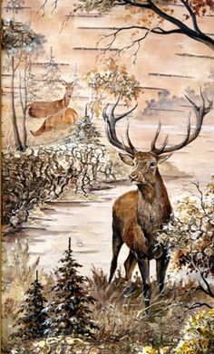 1 million+ Stunning Free Images to Use Anywhere Elk Pictures, Wooden Painting, Deer Art, Art Inspiration Drawing, Pressed Flower Art, Winter Painting, Birch Bark, Christmas Scenes, Pallet Art