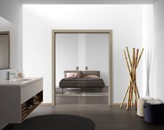 Telaio in legno Anta singola scorrevole a scomparsa Mod.Trasparente_Collezione TRASPARENTI  Wood Frame Single sliding door inside wall Mod.Transparent_TRANSPARENTS Collection di #MRartdesign