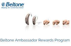 Beltone Ambassador Rewards #TVHearingDevicesGrandRapids #BestHearingDevicesDetroit