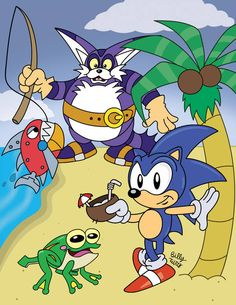 Big the Cat has joined Sonic Dash! Looks like Sonic can take a little breather, Big is ready to rock! Sonic Dash, Sonic Boom, Morton Koopa, Big The Cat, Mundo Dos Games, Pokemon, Classic Sonic, Eggman, Best Pal