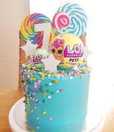 Now what girls are not obsessed with LOL dolls Loved making this cake x #loldolls #lolcake #birthdaycake #girlsbirthdaycake