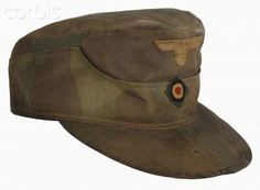World War II, Nazi Germany, Field made style Army cap Ww2 Uniforms, German Uniforms, Military Uniforms, German Helmet, Military Cap, Visor Hats, German Army, Armies, Military History