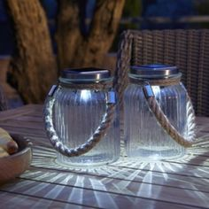 Love, love, love these .. like moonlight captured in a jar ♥♥♥