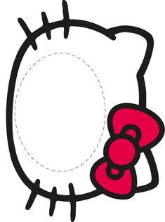 Piñata Hello Kitty, Hello Kitty Photos, Hello Kitty Themes, Paper Party Decorations, Decoration Table, Hello Kitty Birthday Theme, 1st Birthday Party Bags, Decoracion Hello Kitty, Anniversaire Hello Kitty