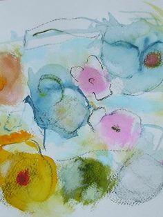 "Saatchi Art Artist Sarah Stokes; Painting, ""in the garden of fragility"" #art"