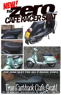 1981 vespa p200e vsx1t electrical wiring p200e project vespa tsr zero cafe racer seat px t5 lml black 125 150