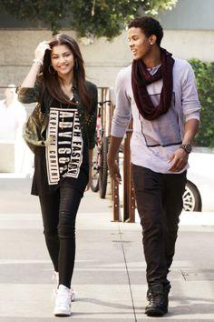 Zendaya & Trevor Jackson ☺