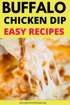 Buffalo Chicken Dip - The Best Ever - These easy buffalo chicken dip recipes tastes incredibly delicious! Makes the perfect appetizer to bring to any cookout, holiday party or family gathering! The best and easiest party appetizers to make any party a success! Easy make-ahead party appetizer recipes to feed a crowd! #dips #diprecipes #buffalochicken #buffalochickendip #appetizers #appetizerrecipes #crockpot #crockpotrecipes #crockpotappetizers #recipes #buffalochickendip #buffalodip… Best Party Appetizers, Best Appetizer Recipes, Yummy Appetizers, Dip Recipes, Buffalo Chicken Dip Recipe, Chicken Dips, Healthy Chicken Recipes, Big Dipper, The Best