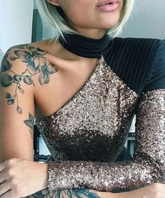 There are many explanations for why girls love tattoos. Small tattoos arrive in various styles and you may choose according to your own personal taste. A lot of people prefer small tattoos since they are simple to hide and look… Continue Reading → Cool Shoulder Tattoos, Half Sleeve Tattoos For Guys, Shoulder Sleeve Tattoos, Flower Shoulder Tattoos, Flower Sleeve, Shoulder Tattoo Female, Shoulder Tattoos For Women Sleeve, Female Tattoo Sleeve, Cherry Blossom Tattoo Shoulder