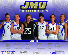 The 2014 JMU field hockey poster! Click to download the full version.