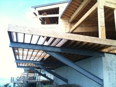 cantilever deck on bluff