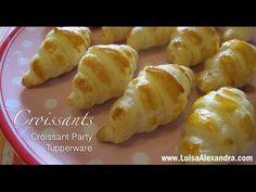 Croissants • Croissant Party Tupperware • www.luisaalexandra.com - YouTube