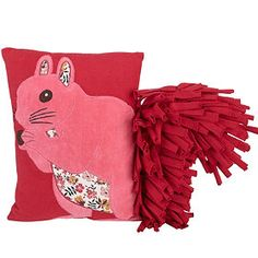 Squirrel Garden Pillow from The Company Store