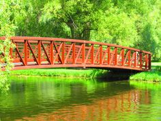 Drum bridge along Rideau Canal near Dows Lake, Ottawa - many times have we thundered over it on foot or bike.