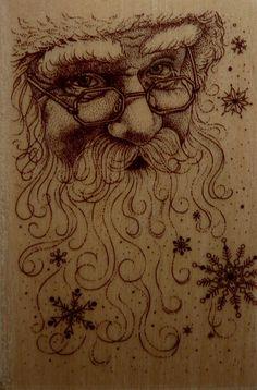 Santa Claus Face ( 862x1309)