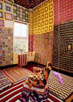 20th Century Comfort Room by daintytime, via Flickr