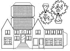 huis bouwplaat - Google zoeken