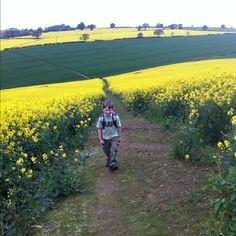 Max(10) loving them there hills lol #derbyshire #chesterfield #hike #walk