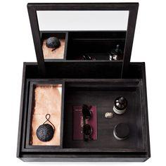 Balsa Personal box, musta ryhmässä Sisustustavarat / Koristerasiat / Laatikot & Rasiat @ ROOM21.fi (128855)