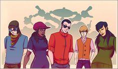 Eles cresceram! Personagens de desenhos animados desenhados como adultos | KND A turma do bairro