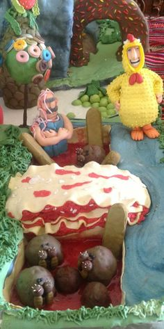 Cloudy with a chance of meatballs cake-Meatbalrus-Tim Lockwood-Chicken Brent