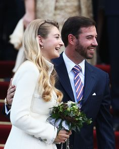 - Prince Guillaume & Stephanie de Lannoy at their Civil Marriage