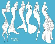 Sirenas poses 3