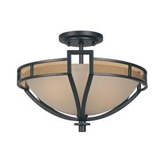 Designers Fountain 83111-ORB Majorca Semi Flush Ceiling Light This item by Designers Fountain comes in an oil rubbed bronze finish. Works with two 100-watt