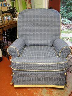 The Slipcover Network Forum: Slipcover For A Recliner By Linda Perry Meeks  · Recliner CoverRecliner SlipcoverSlipcoversFoot ...
