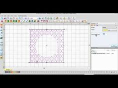 ▶ Floriani My Decorative Quilter (MDQ) Texture Stitches - YouTube