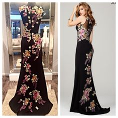 The weekend is almost here! Start your Christmas shopping off right by coming into Mia Bella. Check out Jovani Quinceanera Dresses, Prom Dresses, Pretty Dresses, Beautiful Dresses, Dress Outfits, Fashion Dresses, Casual Dresses For Women, Clothes For Women, Gold And Black Dress