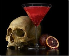 Witches Brew    2 oz Vodka  1 part blood orange juice  1/2 oz aperol  1/2 oz lime juice  1/2 oz simple syrup