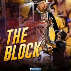 The BLOCK Lebron James