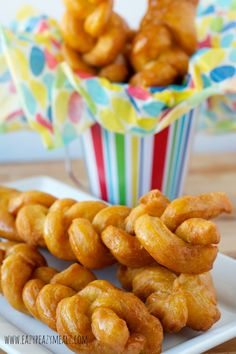 Koeksusters: A braided donut, fried, and dipped in a simple spiced syrup. Seriously so good. You will love it and want to make it all the time. - Eazy Peazy Mealz