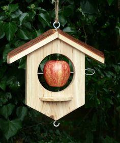 Apple Bird Feeder, Damson Online