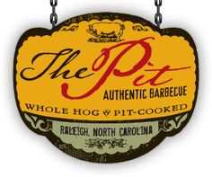 The Pit -- North Carolina is known for its legendary barbecue joints. The Pit proudly continues this tradition by serving authentic whole-hog, pit-cooked barbecue in downtown Raleigh's warehouse district.