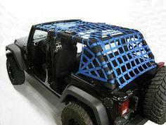 Dirty Dog Netting for Jeep Wrangler JK 4 Door (Rear) Jeep Wrangler Rubicon, Jeep Cj, Jeep Wrangler Unlimited, Jeep Gear, Jeep Wrangler Accessories, Jeep Accessories, Jeep Gifts, Jeep Mods, Cool Jeeps