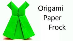 DIY Paper Crafts :: How to Make an Origami Paper SHIRTS with TIE - Innovative…