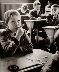 Robert Doisneau 1956- has to be math class