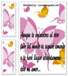 frases y mensajes románticos para whatsapp,enviar originales mensajes de amor para whatsapp:http://www.consejosgratis.net/lindos-mensajes-de-amor-para-whatsapp/