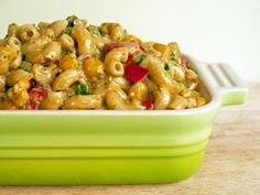 Hmmm, not technically Mexican... but with a Mexican twist here is Green Chile Mac n Cheese